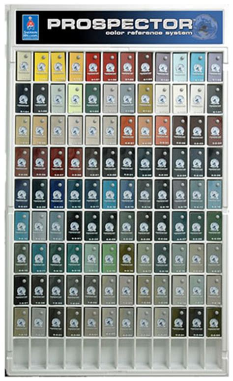 prospector color reference system cottons automotive supply