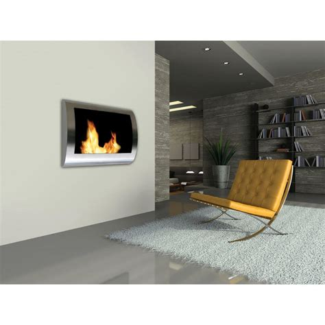 vent free ethanol fireplace anywhere fireplace chelsea 28 in wall mount vent free