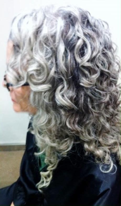 curly hair with grey highlights 17 best images about hair on pinterest gray streaks