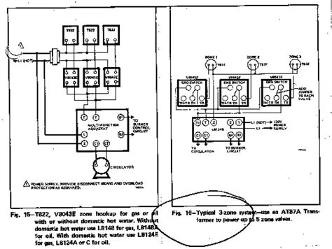 hydronic zone valve wiring diagram for honeywell wiring