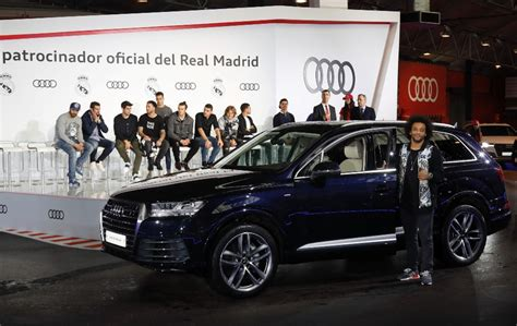 racc sillas auto coches audi jugadores real madrid 2016 2017 15