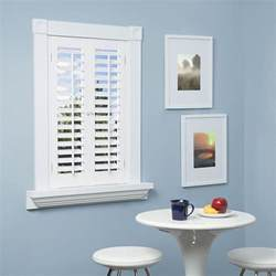 interior window shutters home depot homebasics plantation faux wood white interior shutter price varies by size qspa2336 the