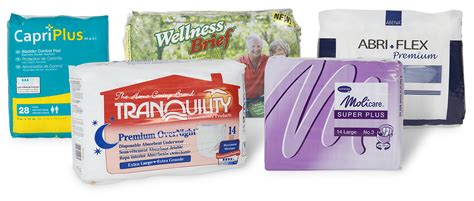 incontinence products personal bottoms disposable incontinence supplies