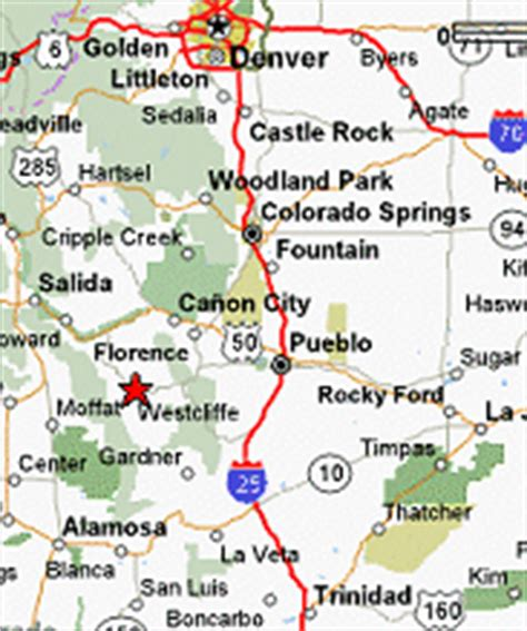rocks colorado map the property colorado vacation rentals family