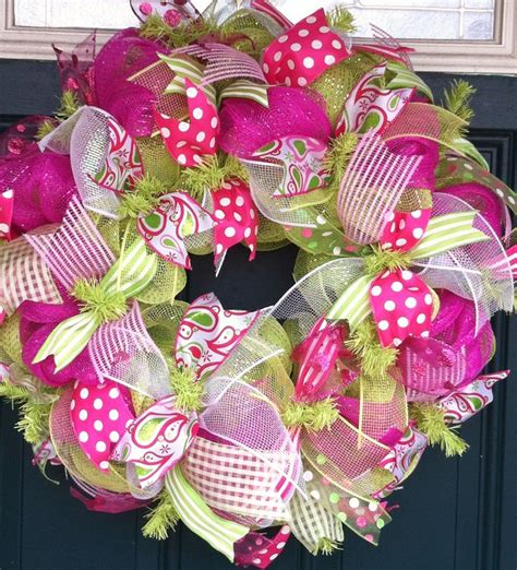 Decorations With Deco Mesh by 600 Best Deco Mesh Decorations Images On Deco