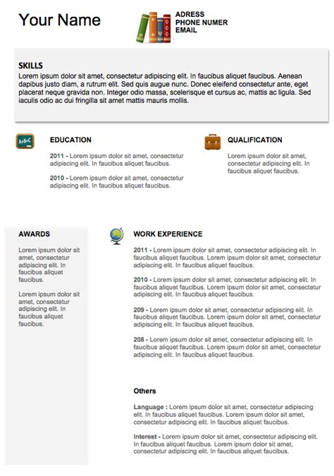 Resume Exles Of Resumes