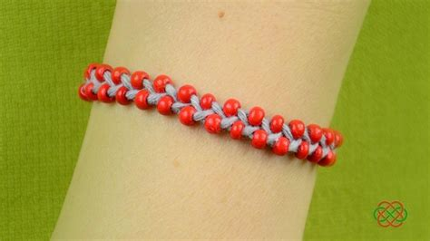 how to make bracelets with how to make beaded friendship bracelet easy and fast