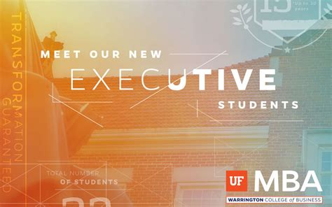 Uf Accounting Mba Program by Meet The Newest Executive Mba Students Warrington