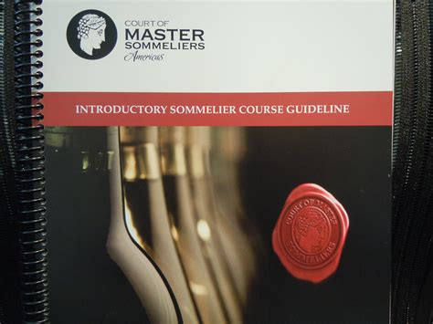 Pdf Sommelier Prep Course Introduction Spirits by Becoming A Sommelier More Than Just Quaffing Wine