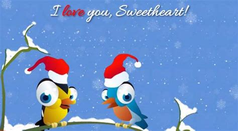 merry christmas darling  love ecards greeting cards