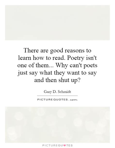 the reasons you can t find a learn the secrets to dealing with books to learn how to read poetry isn 39 t one of them why can