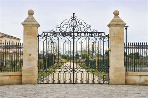 Grille Pour Portail by Portails Et Grilles En Fer Forg 233 En Gironde Ferronnerie