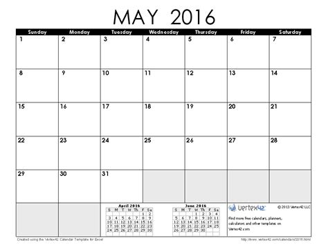 image gallery may 16 2016 calendar 2016 calendar templates and images