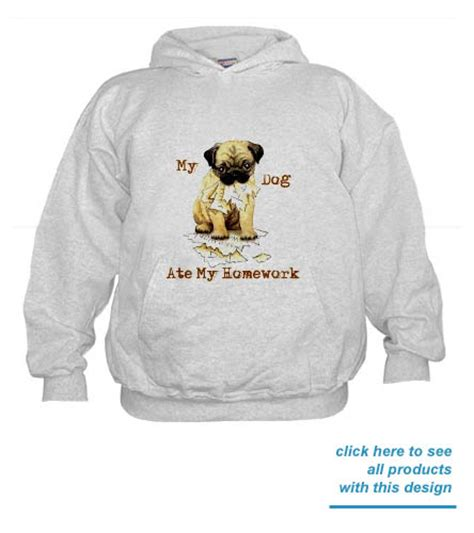 pug merchandise pugs pug apparel clothing t shirts sweatshirts hoodies