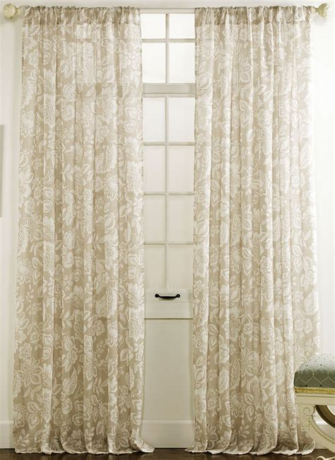 coral curtain sheers cecilia semi sheer panels coral twill birch curtains