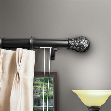 curtain rod with pull string decorative traverse curtain rods with pull cord memsaheb net