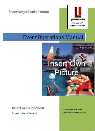 event management guide create your own event operations