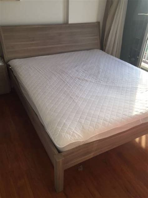 Nyvoll Bed Frame Ikea Nyvoll Bed Frame 180cm X 200cm King Size And Hovag Packt Spr Mattress 180cm X 200cm