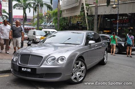 bentley malaysia bentley continental spotted in bukit bintang kl malaysia