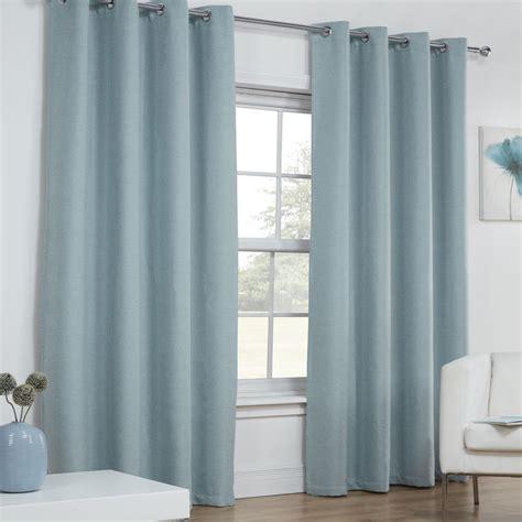 textured eyelet curtains textured woven plain thermal blackout linen look eyelet