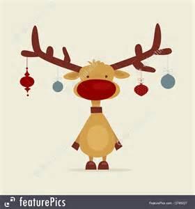 Logo Design Online Software Free illustration of retro cartoon reindeer