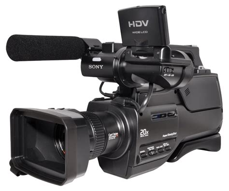 sony video camaras hdv sony video camera transparent png stickpng
