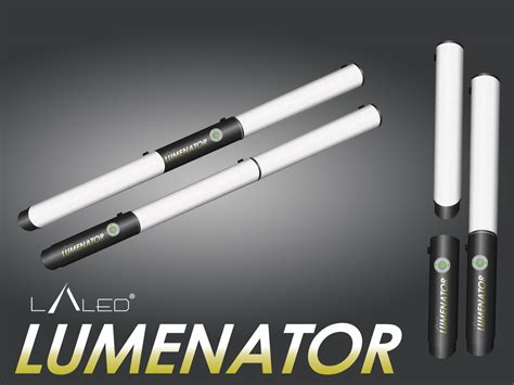 'Lumenator' LED photography light project launched on Kickstarter Lighting Rumours