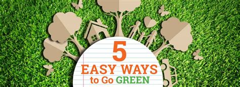 ways to go green at home ways greener home besides just 5 easy ways to go green alexbrands com
