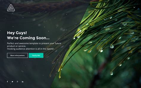 32 Best Html Coming Soon And Under Construction Templates 2016 Coming Soon Template