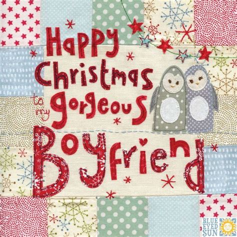 gorgeous boyfriend large luxury christmas card penguins buy christmas cards