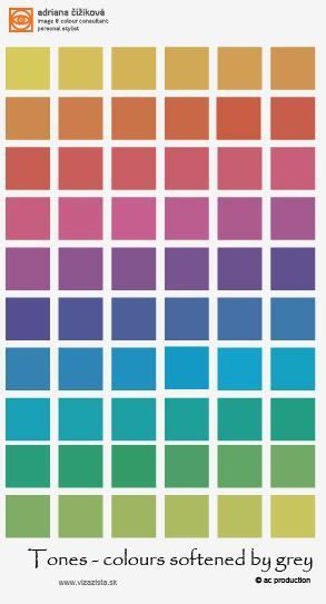 dull colors these are also tones dull col colour theory smart