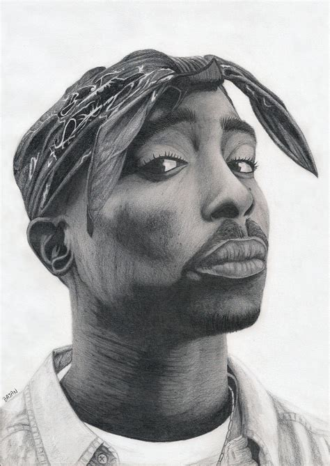 Drawing 2pac by 2pac By Bajan On Deviantart