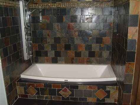 bathroom with slate tile 30 ideas on using natural slate bathroom tiles