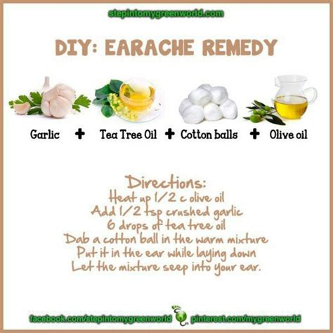 earache remedy remedies