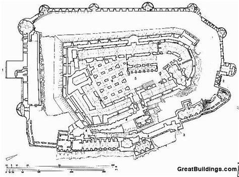 Drawing Blueprints great buildings drawing krak des chevaliers