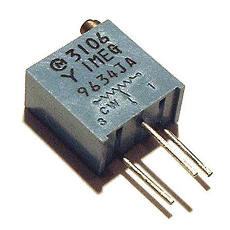 variable resistor 1m ohm 1 meg 1m ohm trimmer trim pot variable resistor 3106y west florida components