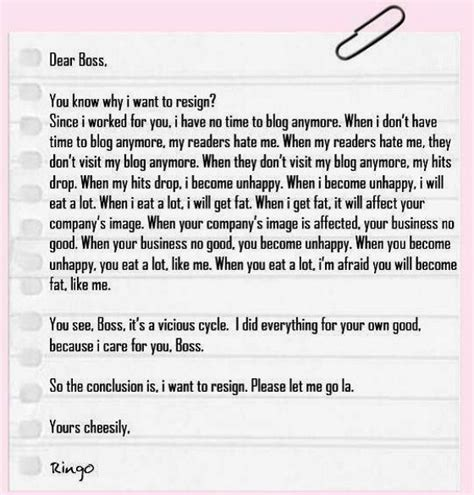 how to write a resignation letter the learning