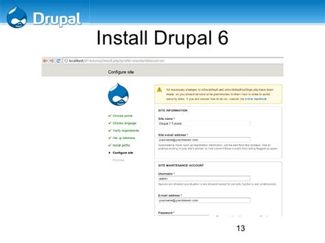theme drupal install drupal 7 install with modules and themes