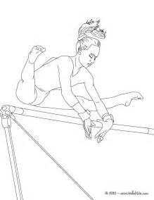 gymnastic coloring pages uneven artistic gymnastics coloring pages
