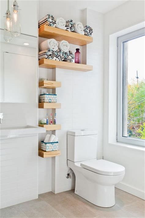 Towel Rack Ideas For Small Bathrooms by Ideas De Almacenaje Para Ba 241 Os Peque 241 Os Decoraci 243 N De
