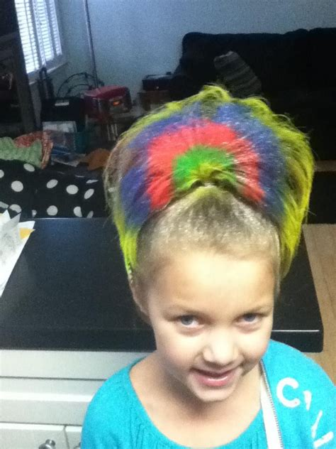 hairstyles for school bad hair day 17 best images about crazy hair day ideas on pinterest