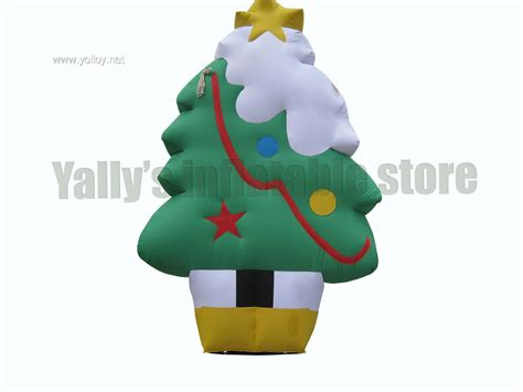 yolloy high large christmas tree inflatable decoration