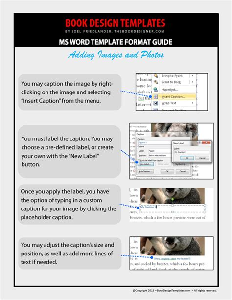 word 2013 book template adding photos and creating pdfs in microsoft word