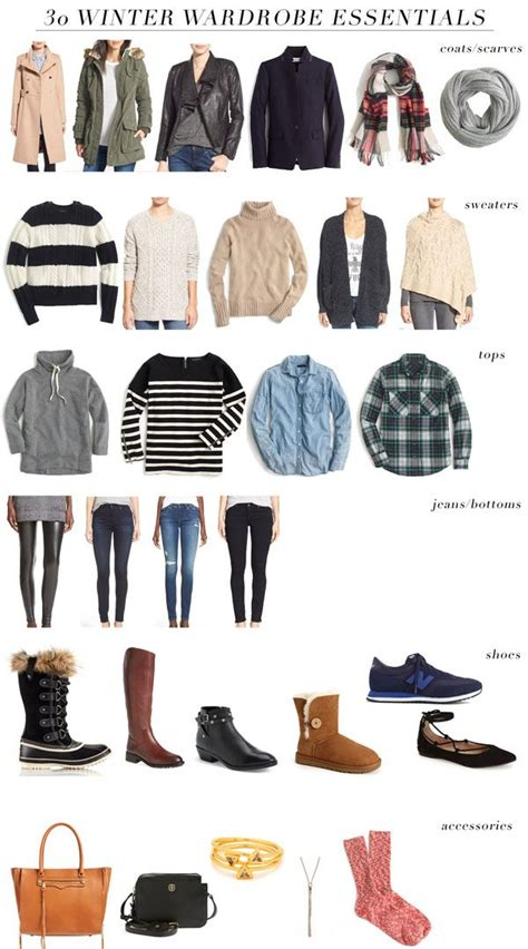 s wardrobe essentials 30 winter wardrobe essentials in 2019 simple classic
