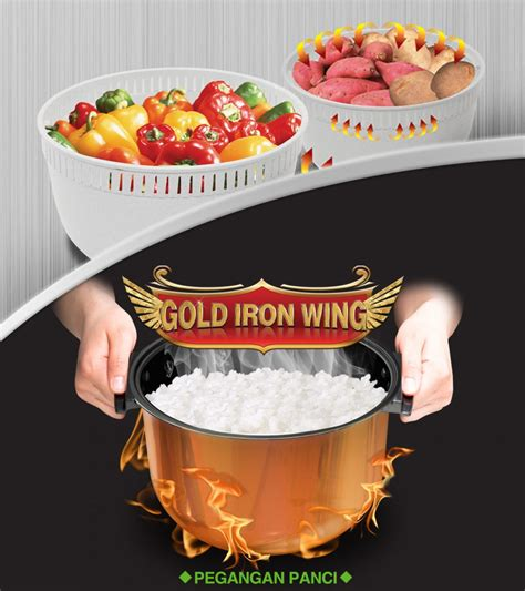 Inner Pot Magic Yong Ma Gold Iron Wing 2 L Tanpa Peganga S yong ma ymc 109 magic yongmasale