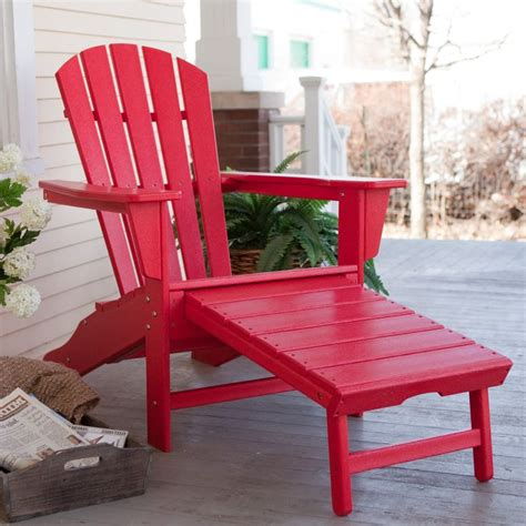 Recycled Plastic Adirondack Chair by Exclusive Polywood 174 Recycled Plastic Big Adirondack