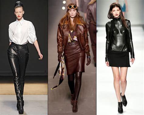 Fashion Leather fashion style leather clothing for