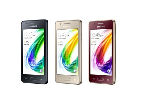 4 samsung z2 tizen black samsung z2 the company s 4g lte smartphone powered by tizen launched in india neowin