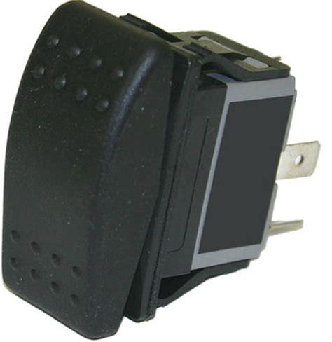 rocker sealed rocker switch 4 blade terminals