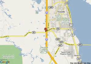 mims florida map map of fairfield inn suites titusville kennedy space